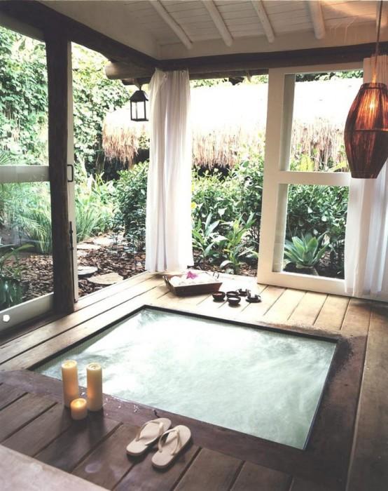 Adelto luxury spa porch