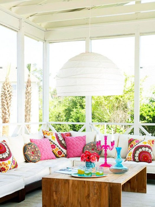 BHG bright and white porch