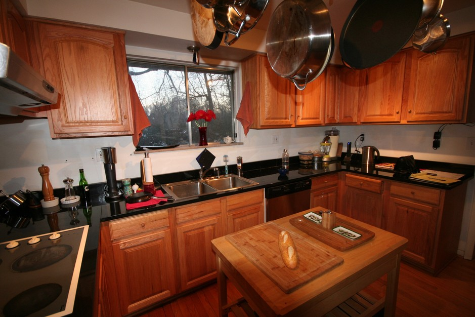 Before and After: A Small Spaced Michigan Kitchen Turned Modern ...