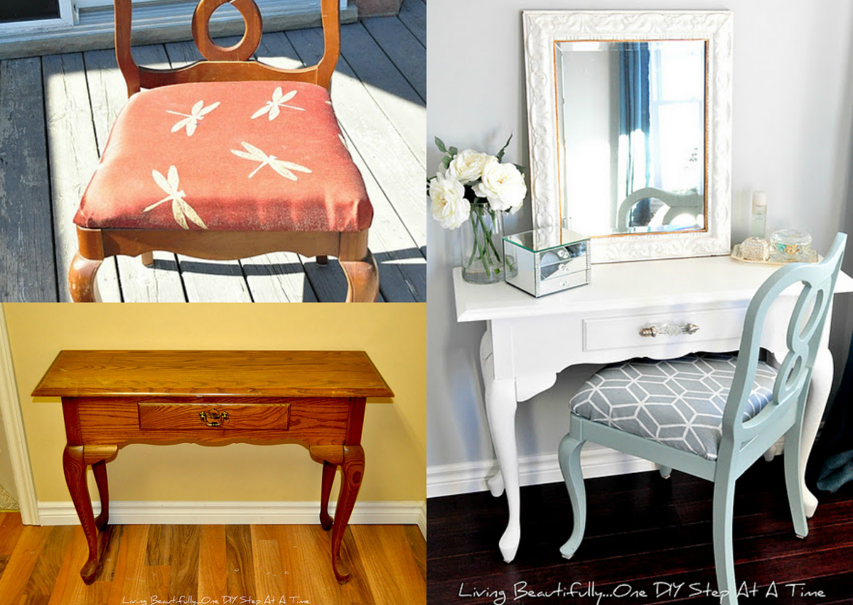 1. French Country Vanity Set U2013 Flea Chic