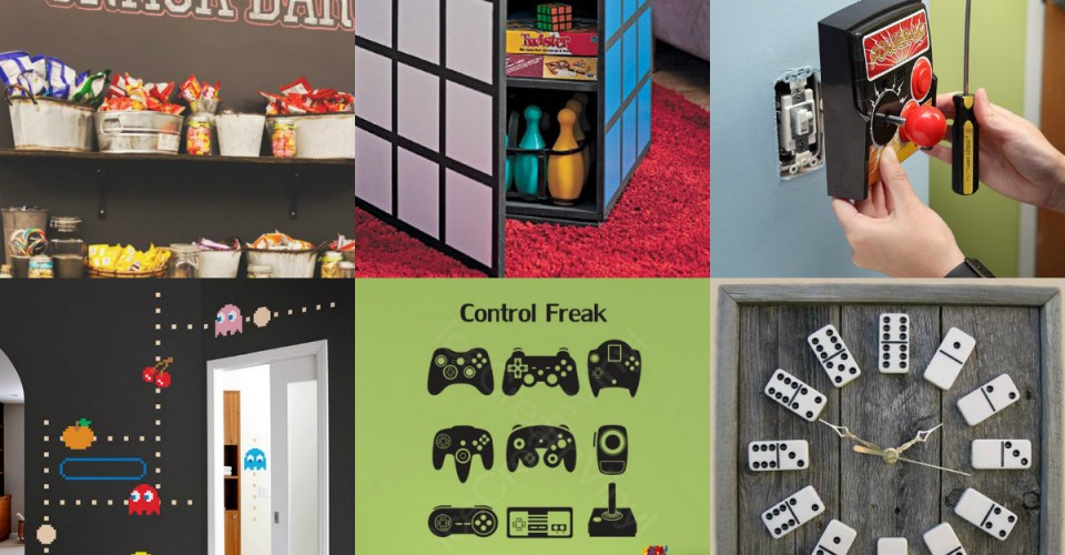 Our favorite pins of the week game room decor porch advice for Cool gamer bedroom ideas