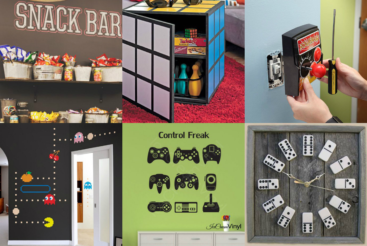 Our Favorite Pins of the Week: Game Room Decor