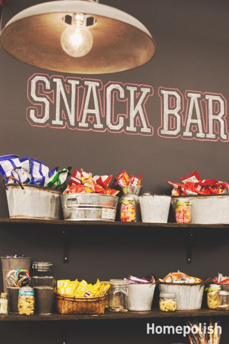 Our favorite pins of the week game room decor porch advice for Food bar game
