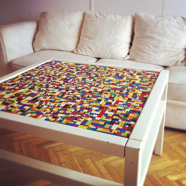 Homedit lego coffee table