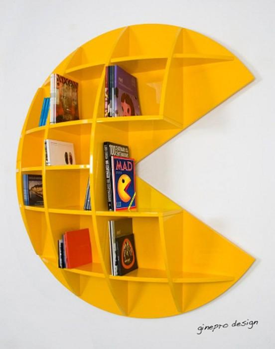 PopSugar Tech Pac-Man Bookcase