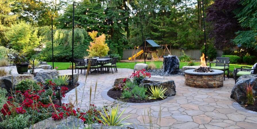 Redmond Backyard Oasis Alderwood Landscaping