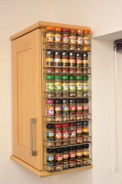 Spice Rack Avonstar 102 via Tiny House Pins small kitchen hacks