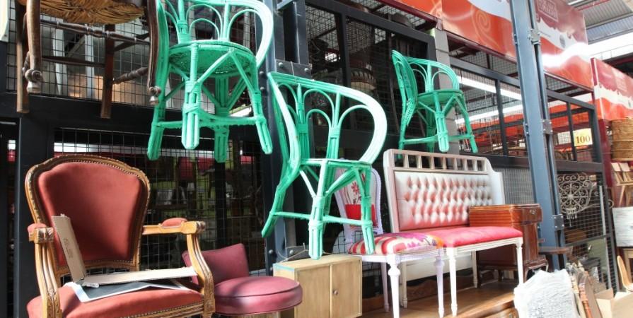 Summer Thornton Design - Porch - flea market finds