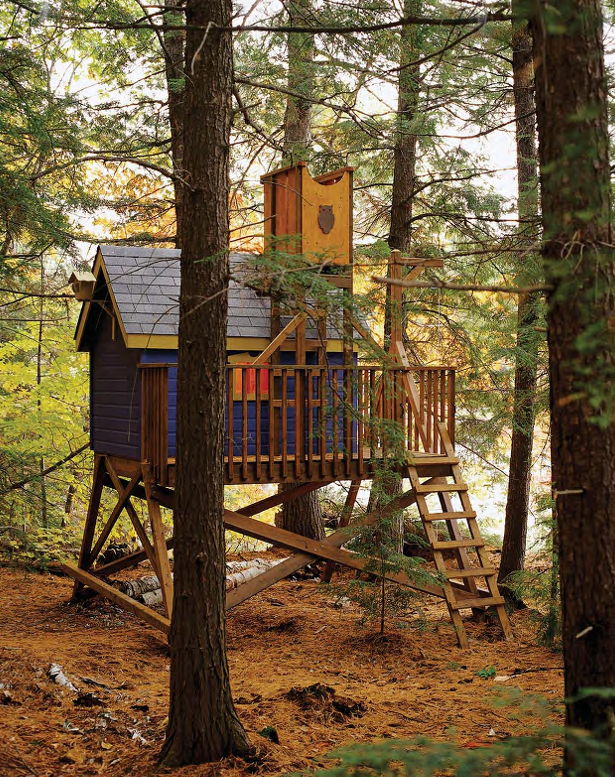 The Classic Archives   Porch   DIY Treehouses