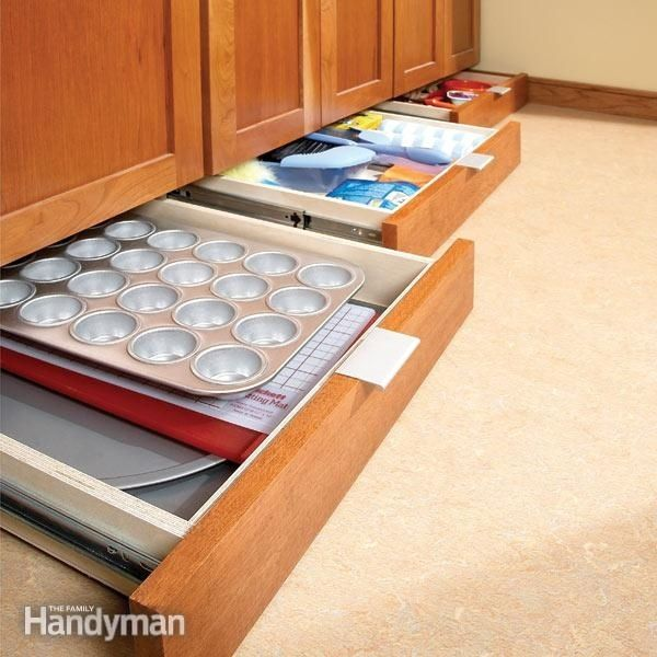 The Family Handyman via Buzzfeed small kitchen hacks