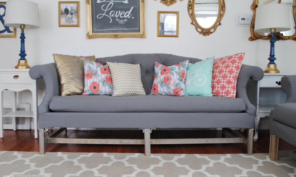 Average Cost To Reupholster Sofa Themayohome Com