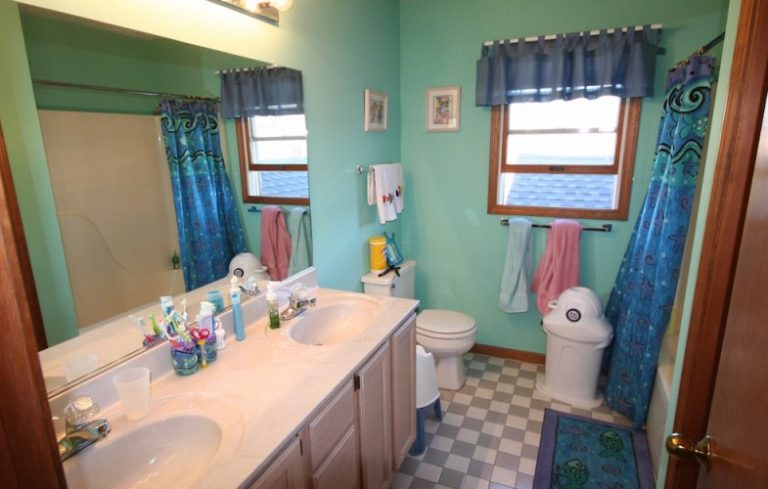 Before And After: A Classy Kidu0027s Bathroom Remodel   Porch Advice