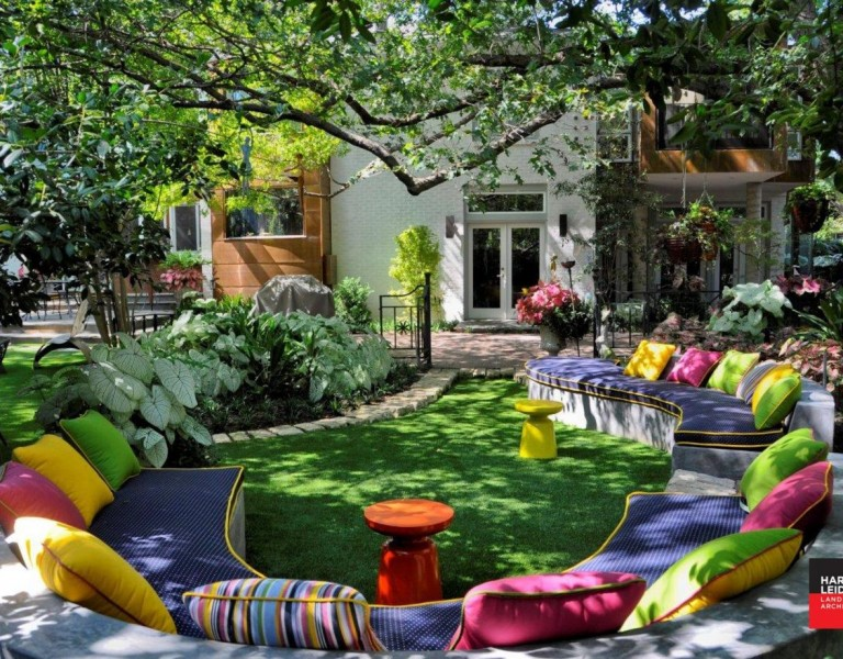 Harold Leidner Landscape Architects eclectic modern