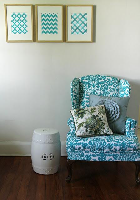 Lovely Little Life - Porch - diy upholstery