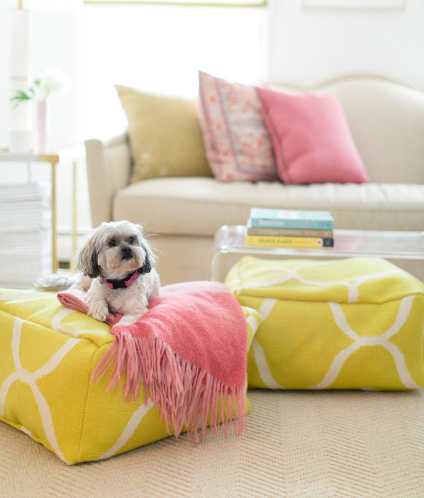 Style Me Pretty - Porch - diy upholstery