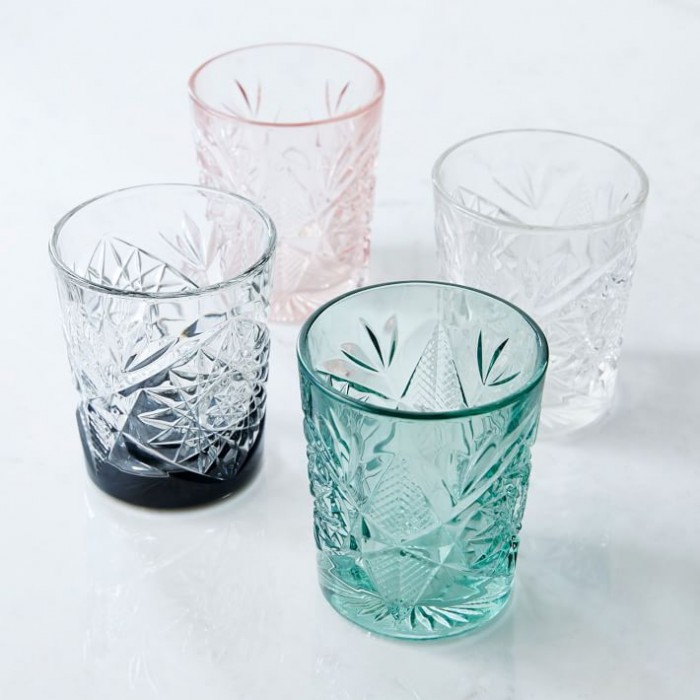 West Elm decorative glassware