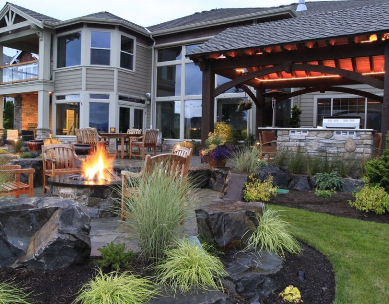 Alderwood Landscaping - Porch - fire safety