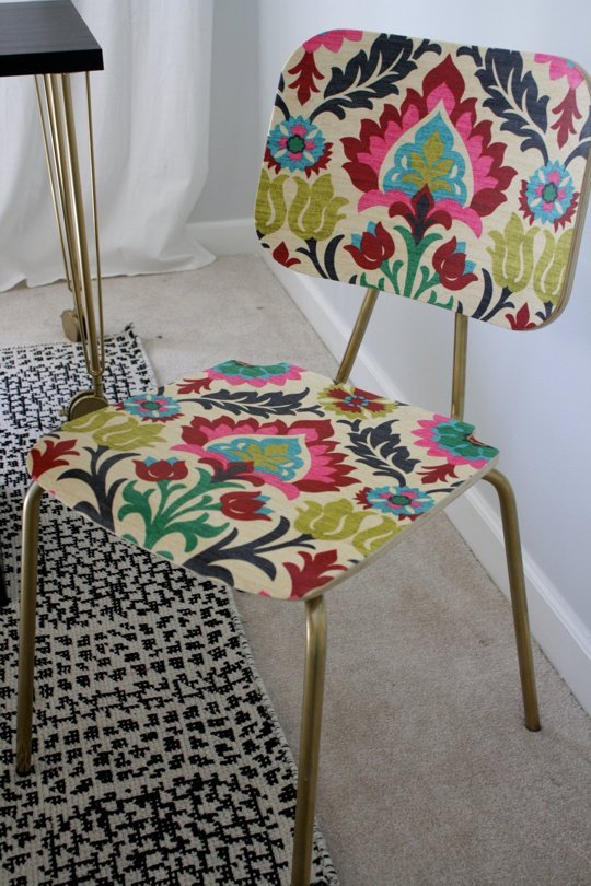 Apartment Therapy - Porch - mod podge