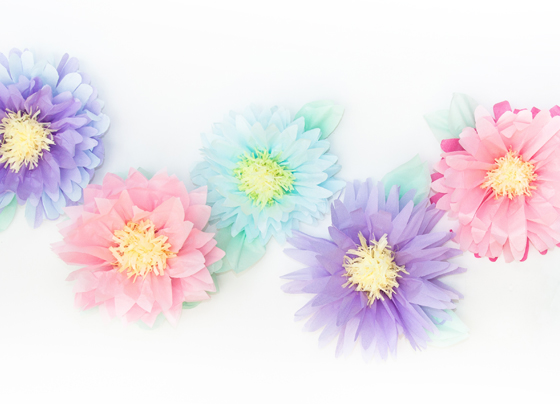 Design Every Day DIY paper flowers