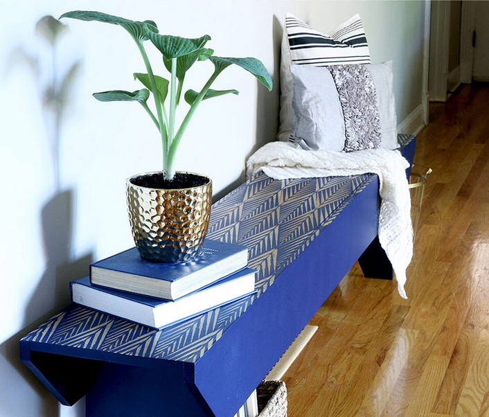 7 Stunning Stenciled Diy Project Ideas