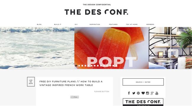 The Design Confidential blogger