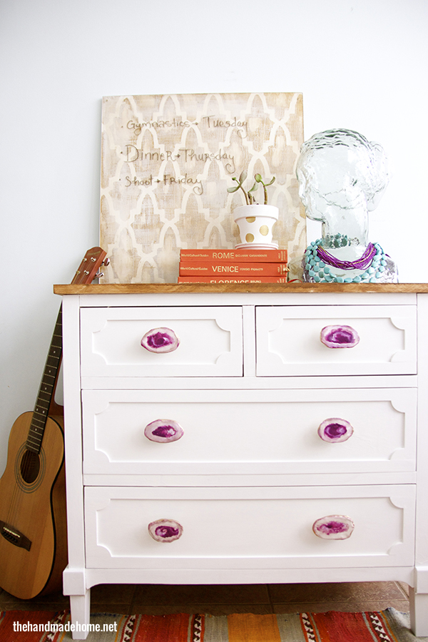 Rock out with these 7 agate diy projects porch advice for How to build a nightstand from scratch