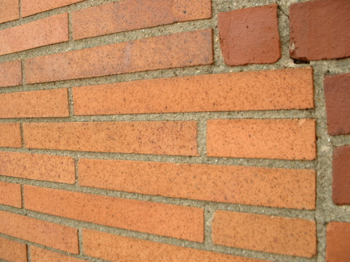 Mortar joints can show signs of foundation issues - Photo by Vintage Happy