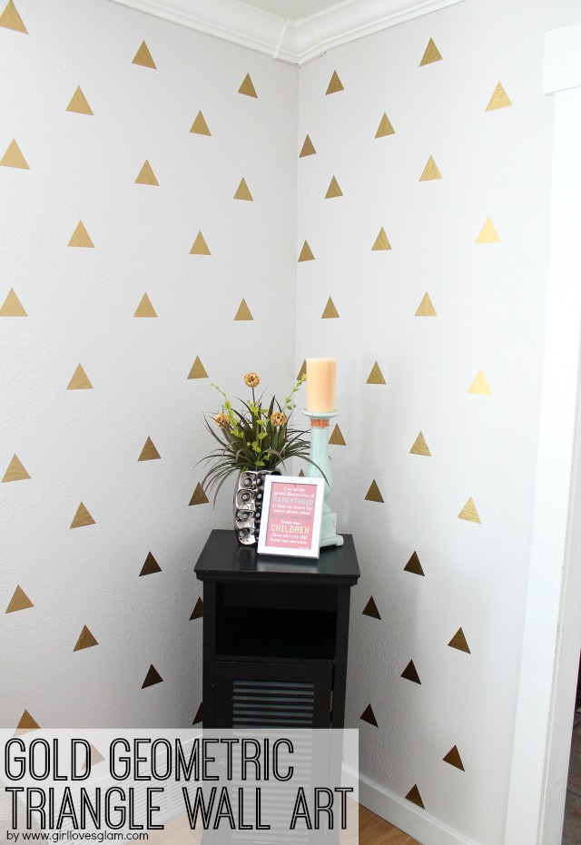 girl loves glam diy wall decal wall