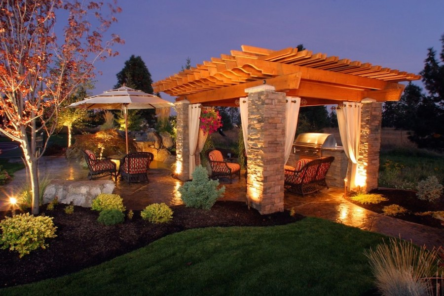 Designing the ultimate outdoor kitchen porch advice for Outdoor kitchen under pergola