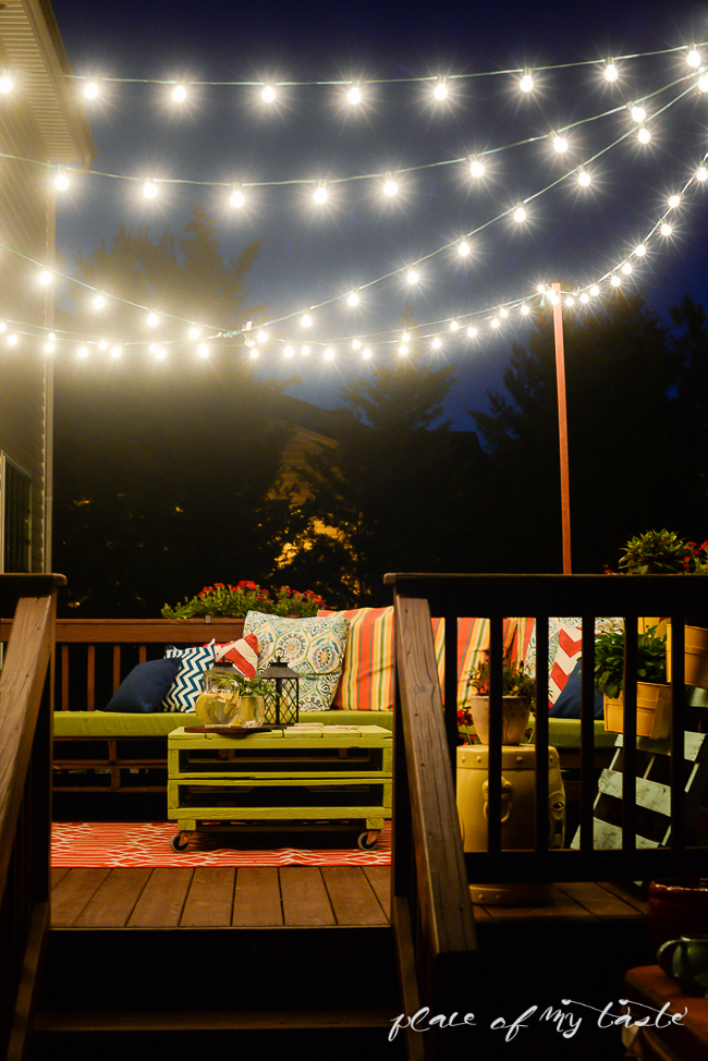 7 creative ways to decorate with string lights porch advice - How to use lights to decorate your patio ...