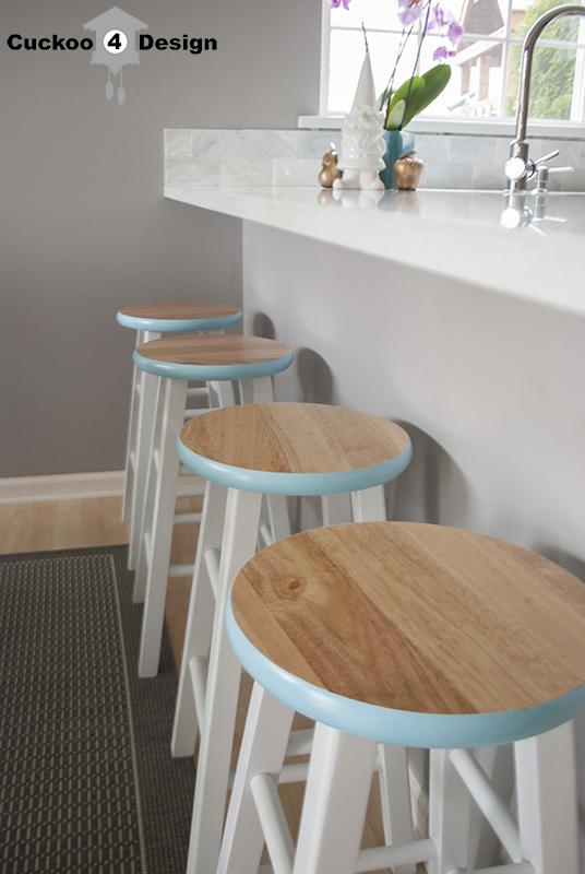 Cuckoo 4 Design DIY counter stool makeover
