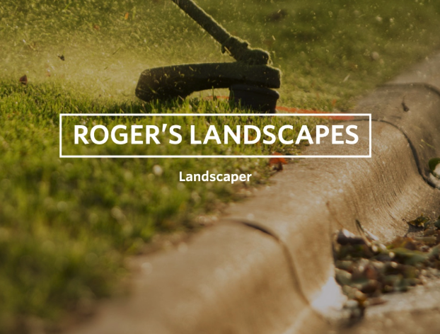 Roger Caldwell of Roger's Landscaping