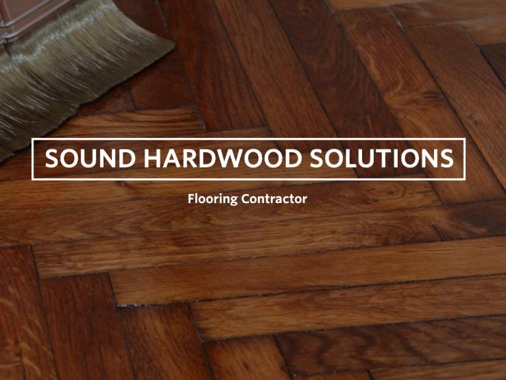 Don Stenback of Sound Hardwood Solutions