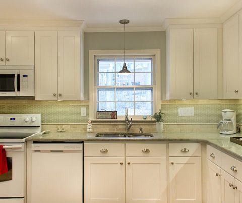 before and after a full kitchen remodel on a tight budget