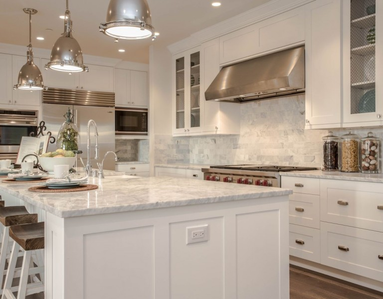 Calista Interiors Clyde Hill Modern Farm House kitchen