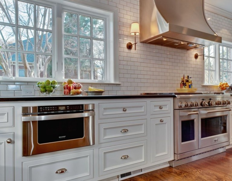Hopedale Builders kitchen oven