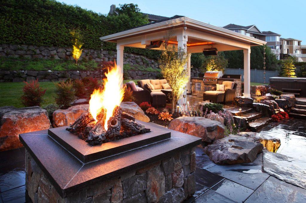 Alderwood Landscaping fire