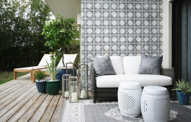 Does Your Backyard Patio Or Apartment Balcony Need A Pick Me Up? From Fresh  Planters To Twinkling Lights, You Can Update Your Outdoor Space With Home  Decor ...