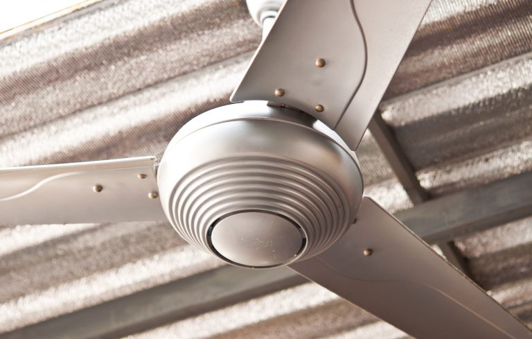 How to clean a ceiling fan porch advice in the offseason a ceiling fan can collect a thick layer of dust cleaning a ceiling fan can be intimidating but with this easy trick you can clean your mozeypictures Images