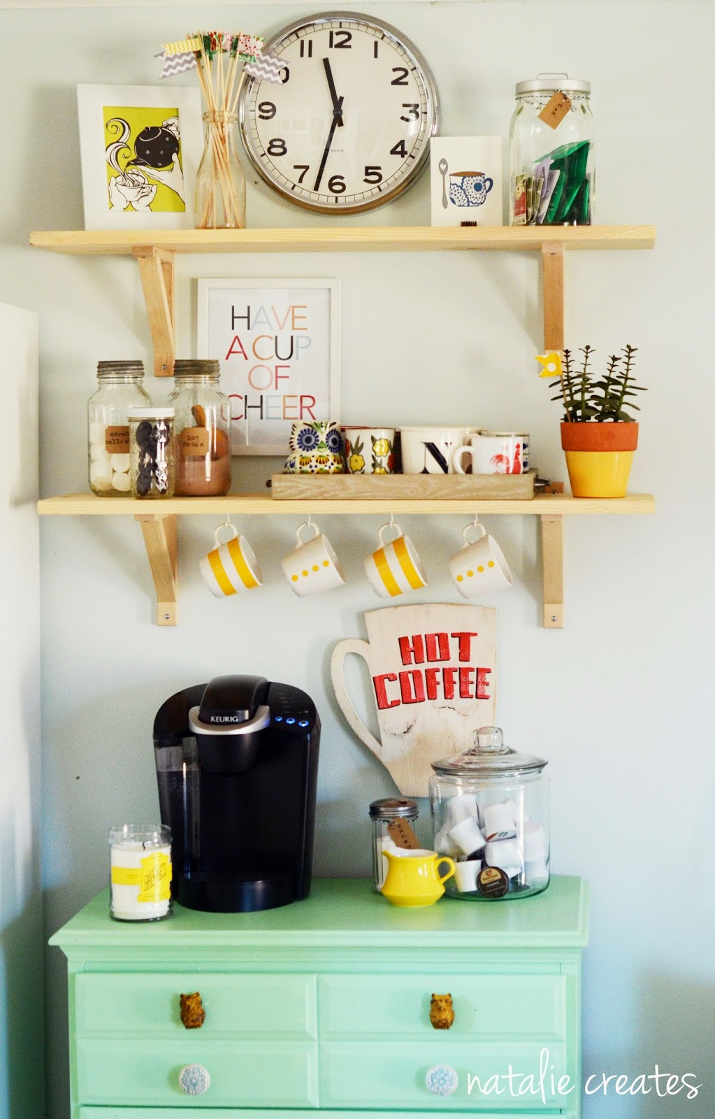 7 Charming DIY Coffee Stations For Your Home - Porch Advice