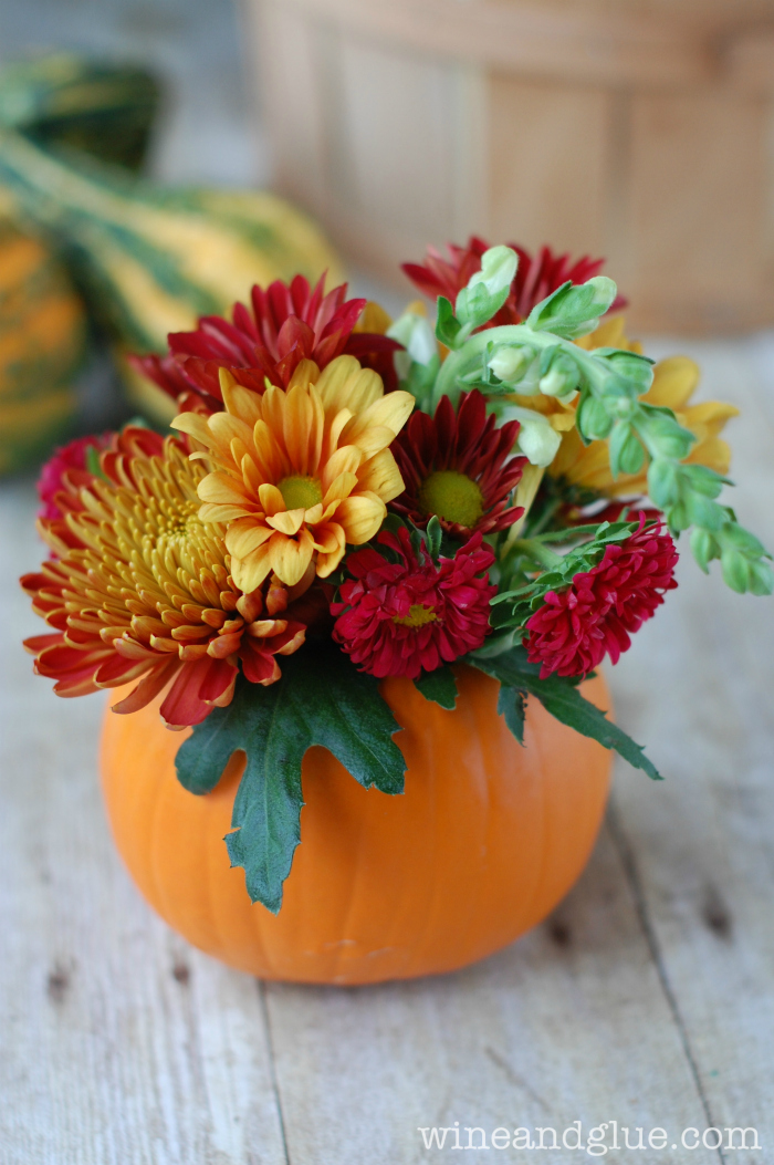 Diy pumpkin flower vases you ll be obsessing over all