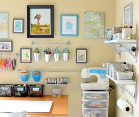 gallery-wall-in-craft-room-e1418353351537-700x437