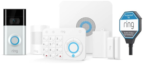 home security systems - Porch Ring Alarm product image